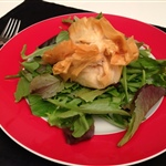 Savory   Goat Cheese In Filo